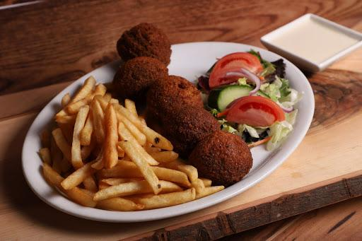 114. Falafil Plate With Fries