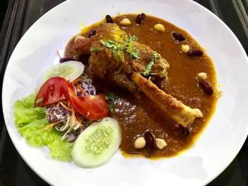 218. Lamb Shank Curry