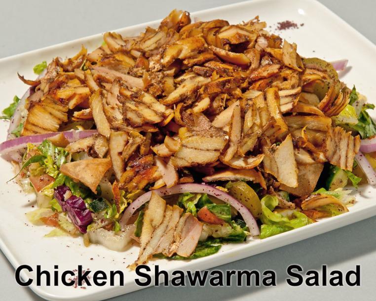 106. Chicken Shawarma Salad