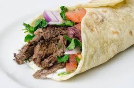108. Beef Shawarma Wrap