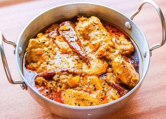 214. Chicken Achari Karahi
